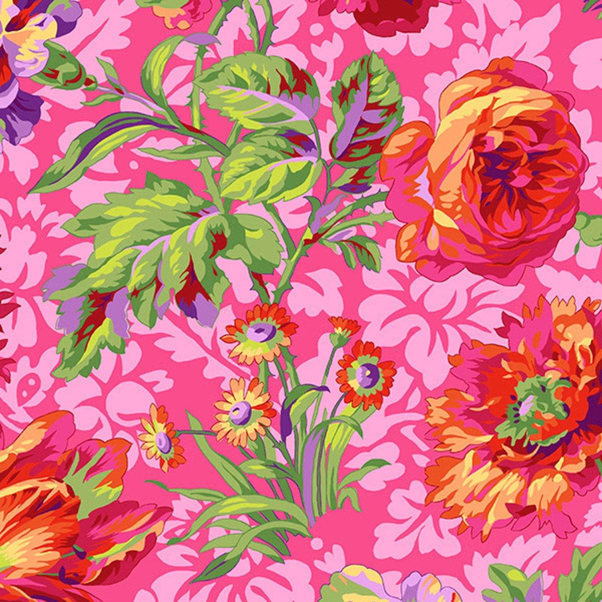 Kaffe Fassett Baroque Floral Red PWPJ090.RedXX
