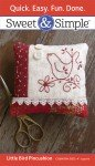 Embroidery Sweet & Simple Little Bird Pincushion