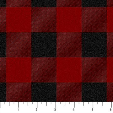 Flannel West Creek Red/Black W23907-24