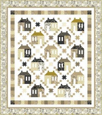 Quilt Maisons de Patchwork