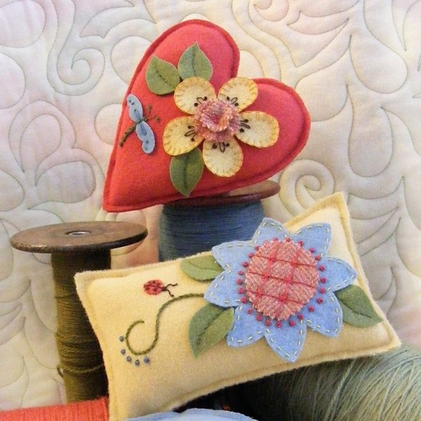 Big Flower Pincushions