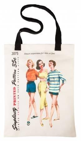Simplicity Vintage Tote Bag