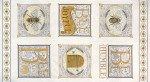 Bee Joyful  19870 14 Laurel White 24 x 44 Panel