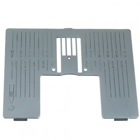 Straight Stitch Plate Inch Markings (J) 5.0, 4.2/5.0