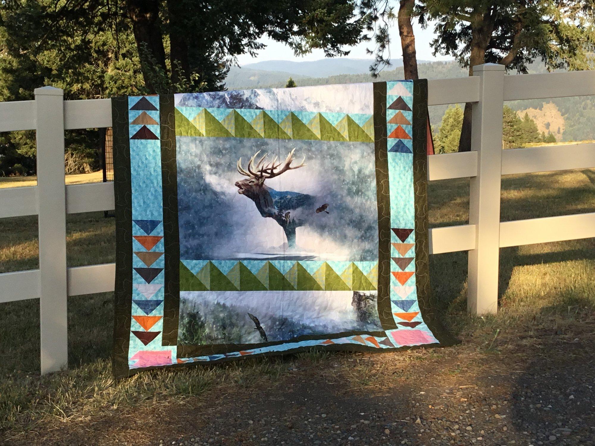 Glacier Spirit Elk Kit 66x 88