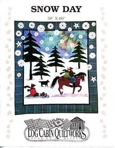 Snow Day Quilt 58 x 66 Pattern