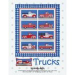 Trucks Quilt by Amy Bradley Designs ABD280