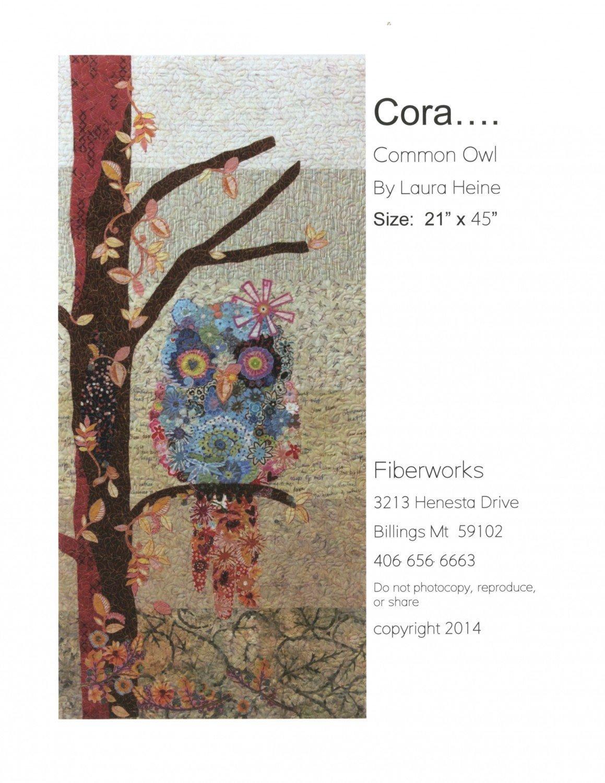 Cora.... Common Owl  21 by 45 Pattern/Laura Heine