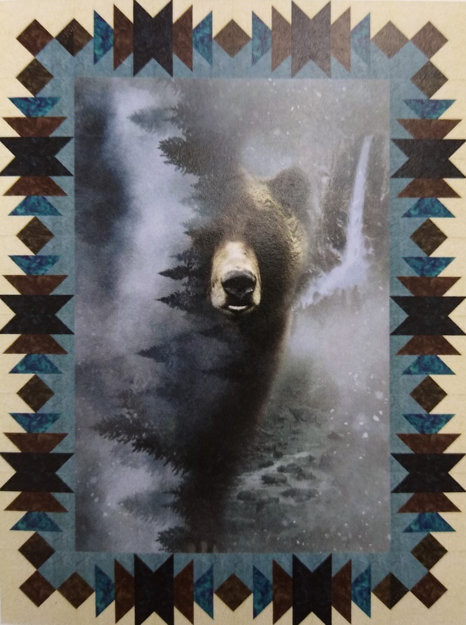 Bear Hugs from Montana Kit 42 X 56