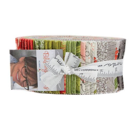 Blushing Peonies Jelly Roll #48610JR