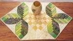Cabin Leaves Table Runner 23x40 CLPNAM004