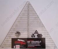 Creative Grids 60 degree Triangle 12-1/2 CGRT12560
