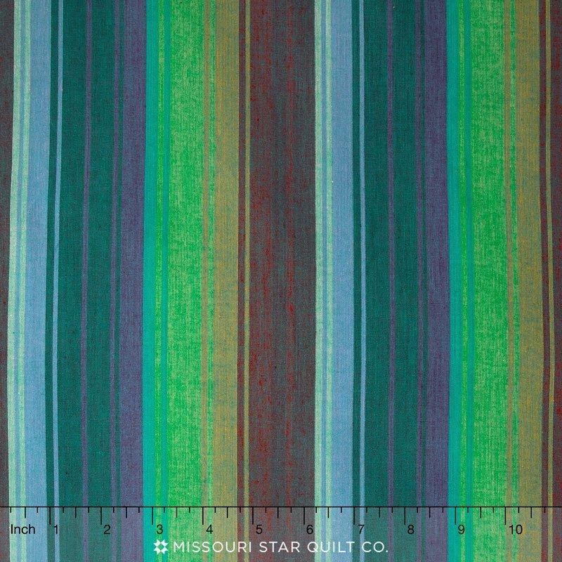 Kaffe Fassett -Woven Stripe WEXOTIC EMERALD