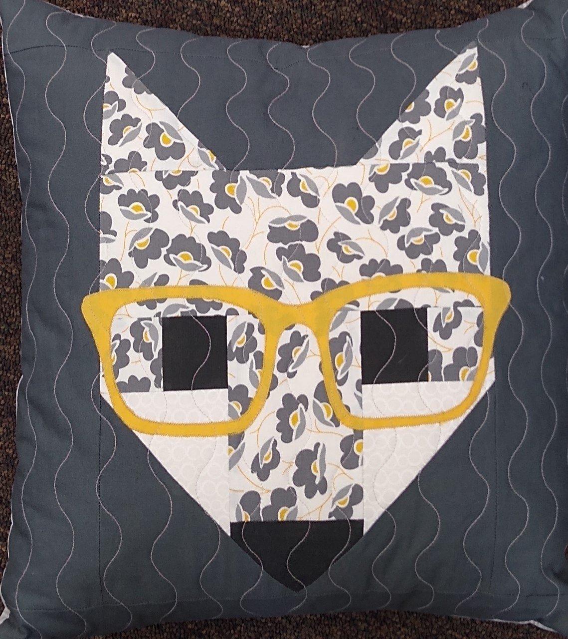 Fancy Fox II Pillow Kit