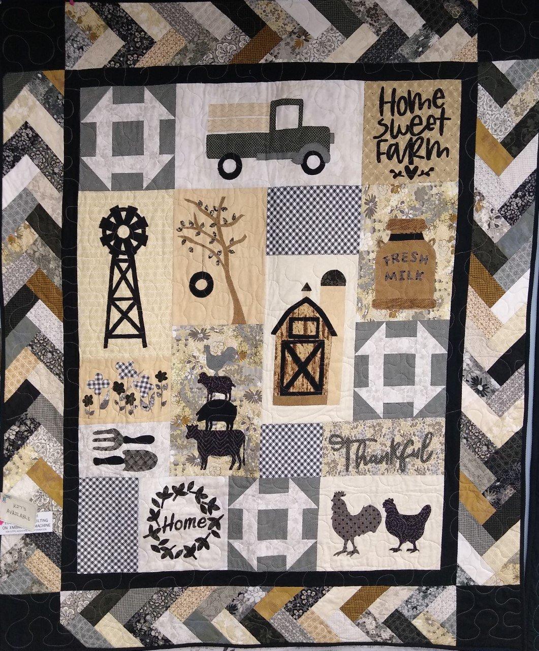 Farmhouse Threads Kit 51 X 60