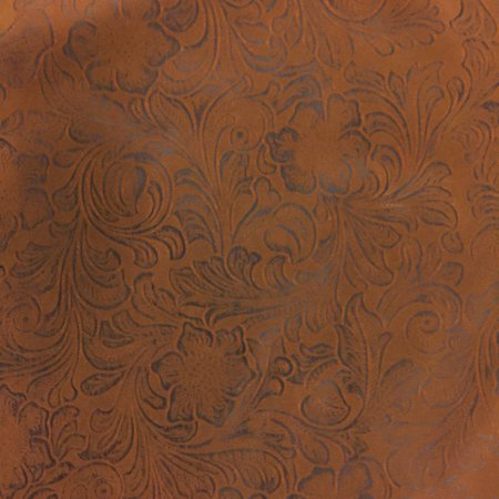 Faux Leather Jacobean