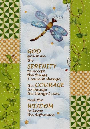 God Grant me the Serenity Card GC10