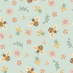Bumble Garden F1399 11 Aqua Bees