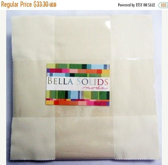 Bella Solids Layer Cake Snow #9900LC-11