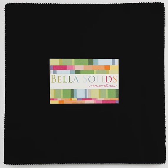 Bella Solids Layer Cake Black #9900LC-99