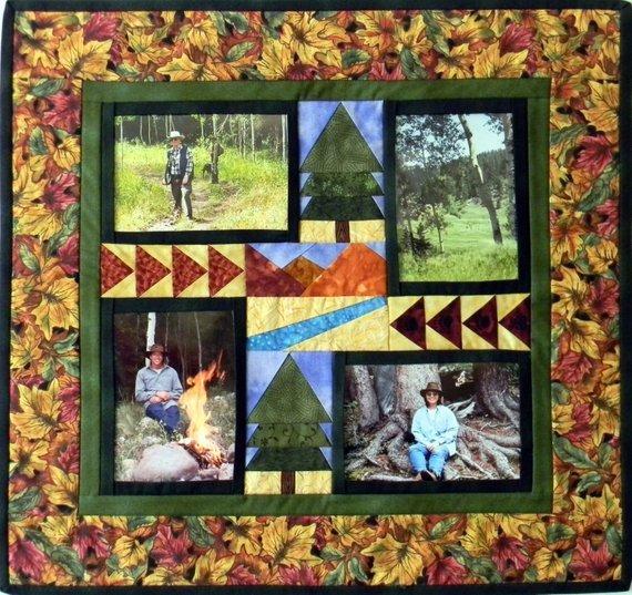 Photo Frame Quiltlet Rocky Mountain Memories DTD-1747