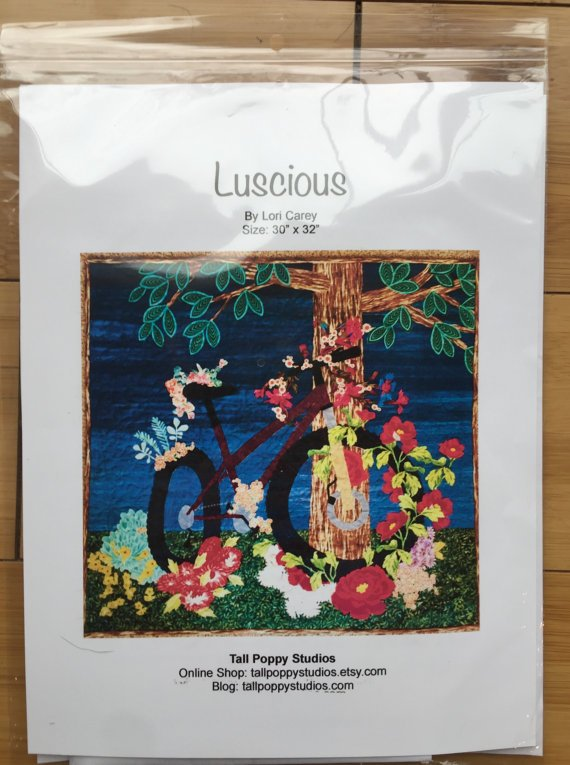 Luscious TPSLUS16 30 by 32 Pattern/Lori Carey