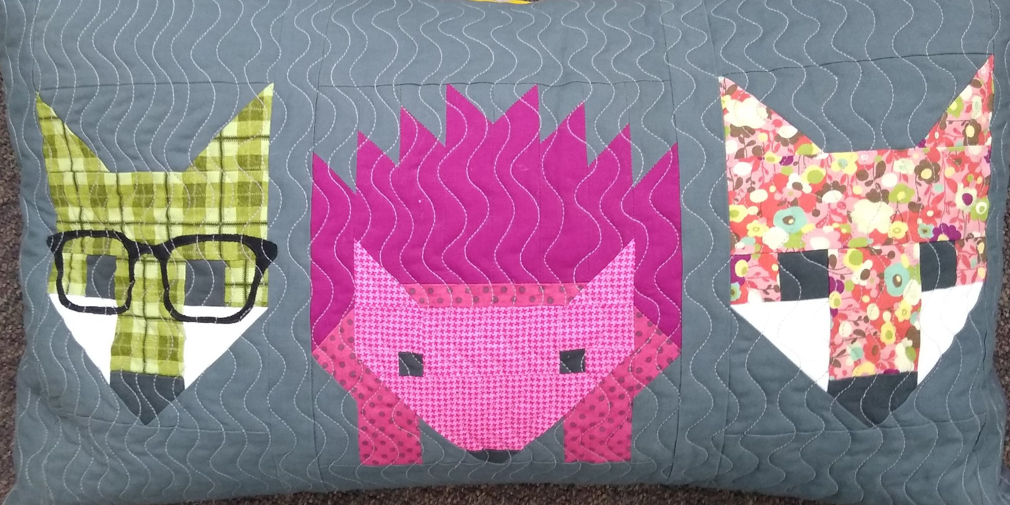 Hedgehog/Fox Pillow Kit 15 x 25