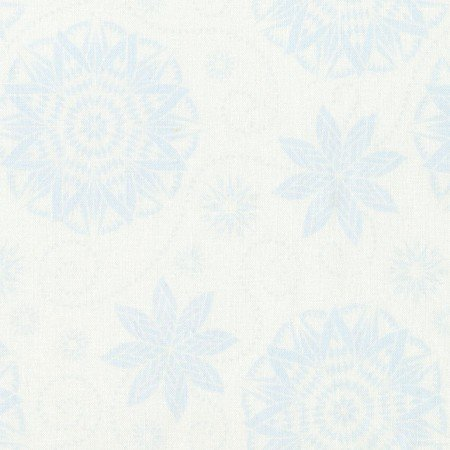 Bohemian Blues JN-C5770 Quilterly Medallions Grey