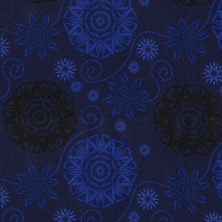 Bohemian Blues JN-C5770 Quilterly Medallions Storm