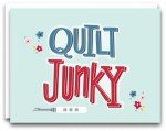 Quilt Junky Gift Note Card KC-177