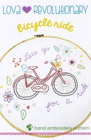 Bicycle Hand  Embroidery LR4