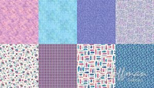 ALL A TWITTER P4391 405 Wildberry (Panel 2 yds)