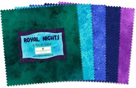 5 x 5 Squares - Royal Nights - 42 Squares