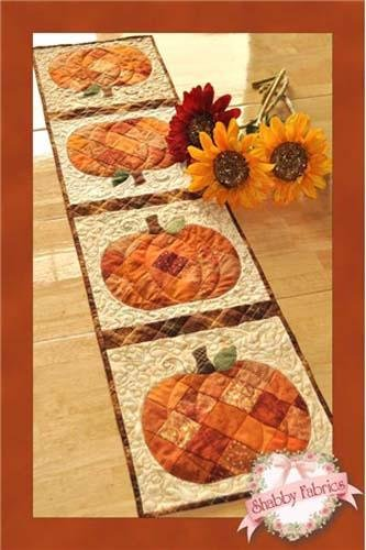 Patchwork Pumpkin Table Runner SF48568