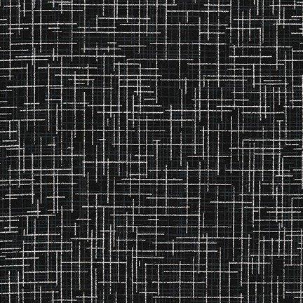 Quilter's Linen Metallic SRKM-14476-181 Onyx