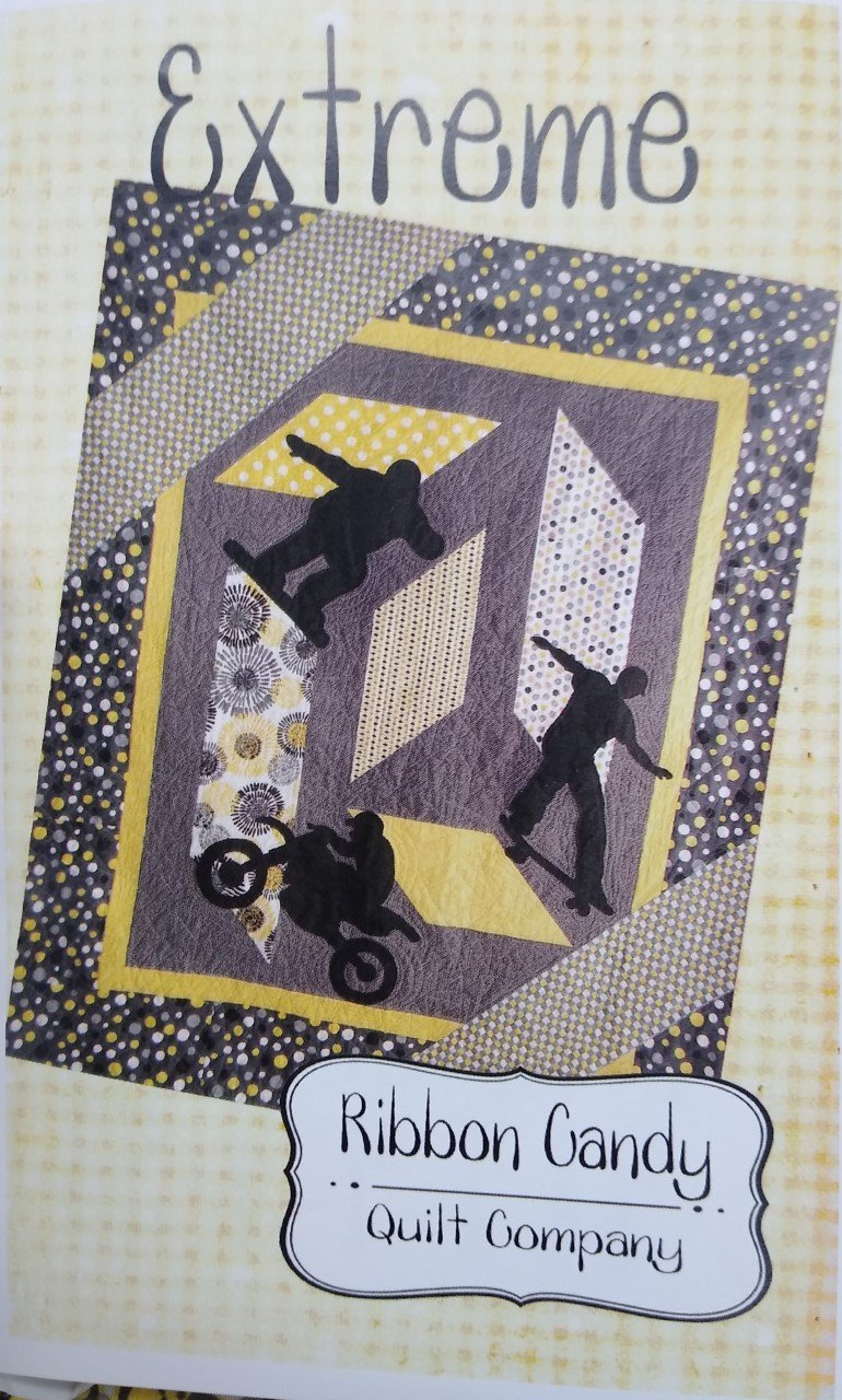 Extreme by Ribbon Candy Quilt Kit 60 X 72
