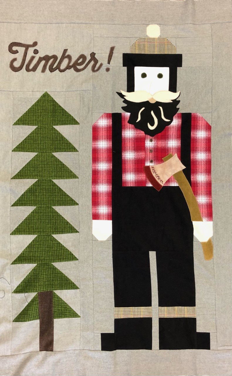 4 Foot Lumberjack Man Kit 38.5 X 54.5