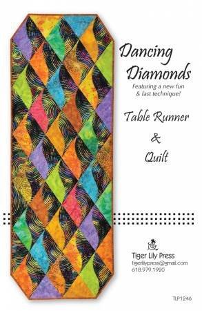 Dancing Diamonds Table Runner & Quilt