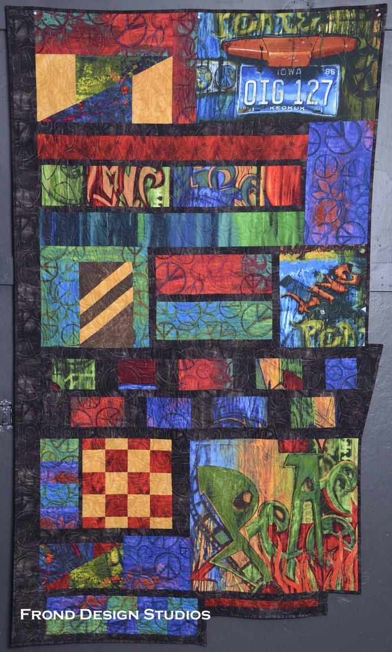 Urban Form in Street Smarts Quilt Pattern