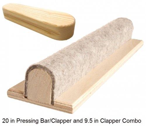 Seam Pressing Bar and Clapper 12in