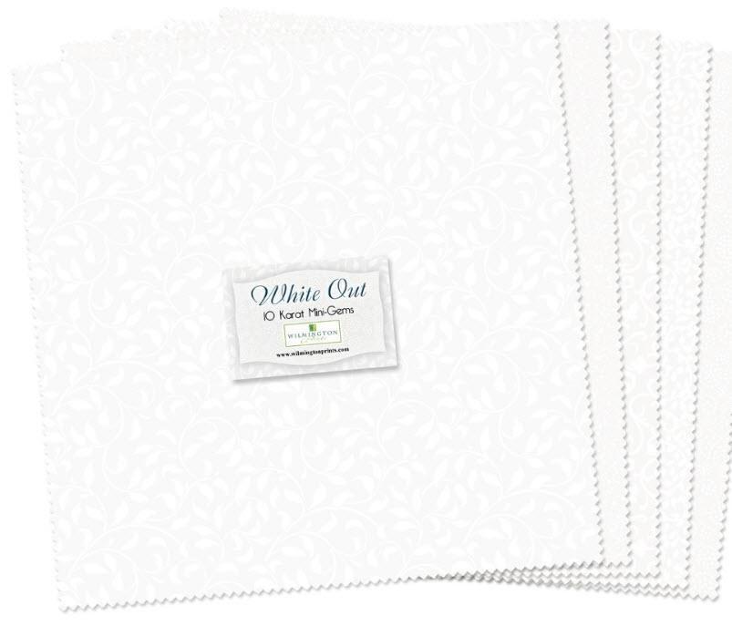 White Out Q510-12-510 10 Karat Mini-Gems