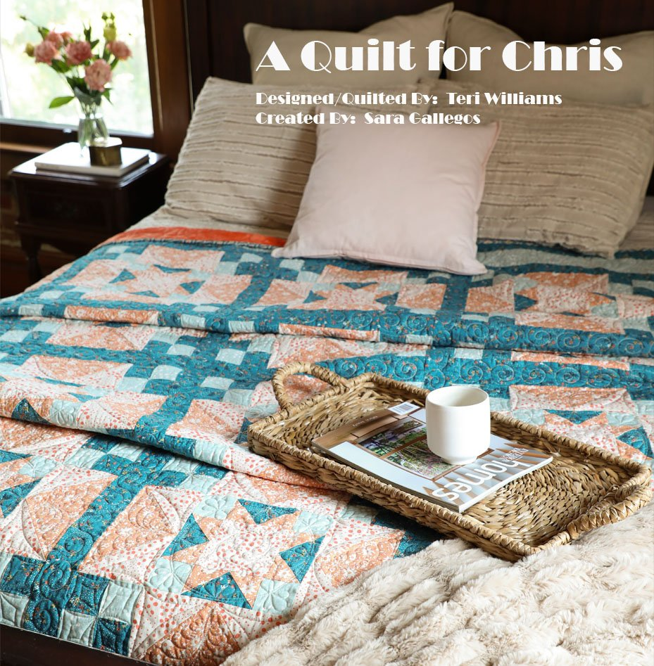 LOQ A Quilt for Chris - Quilt Kit 85x85