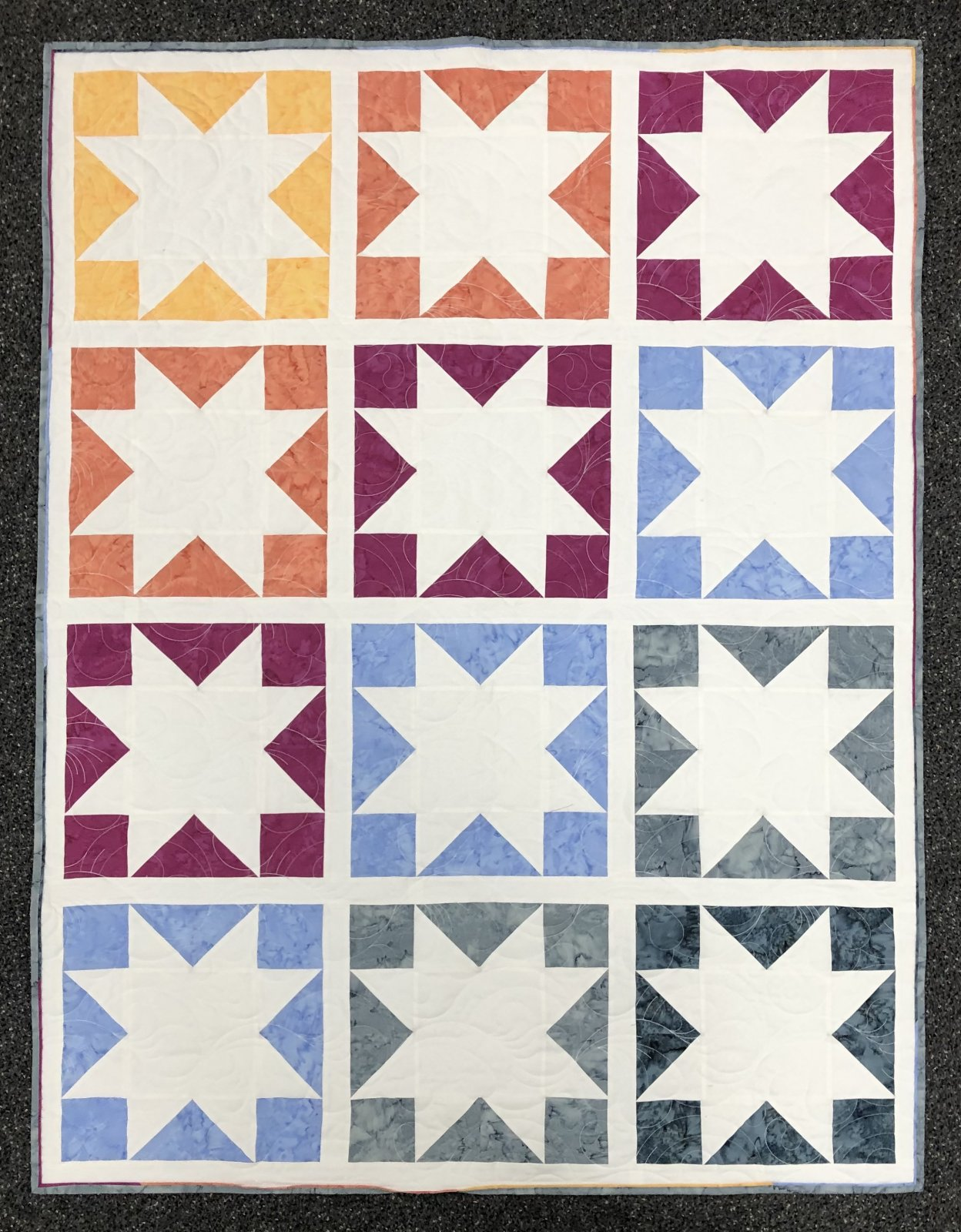Inside Out Star Quilt Kit