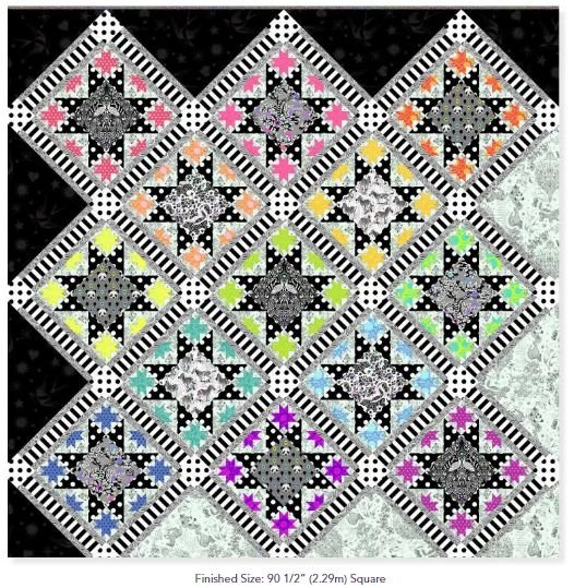 Tula Pink - Opening Night Quilt Kit