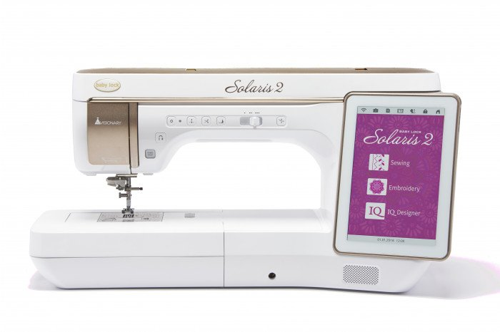 Solaris 2 Embroidery & Sewing Machine