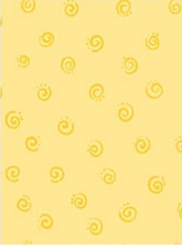 Susybee Buddies - Swirls Yellow
