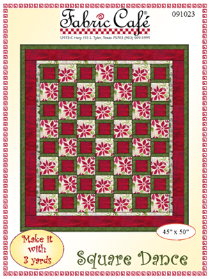Square Dance - 3 Yard Quilt