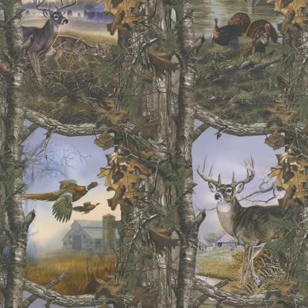 Realtree Deer & Turkey Allover