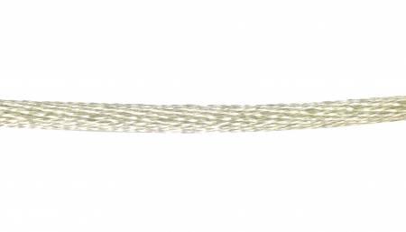 Satin Rattail Cording - White