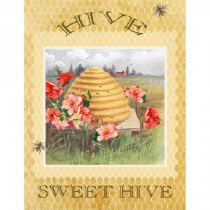 Bee Sweet  - Large Panel